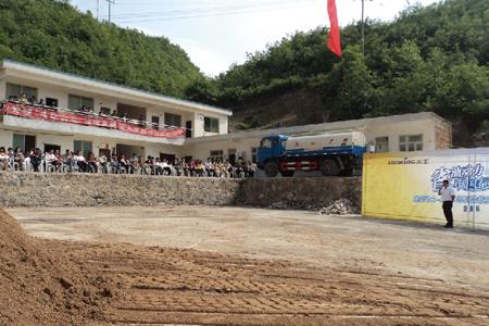 龙工装载机省油动力中国行活动