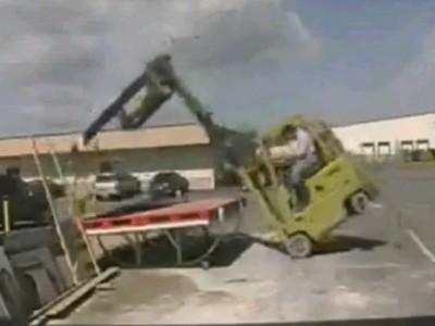 十大叉车事故