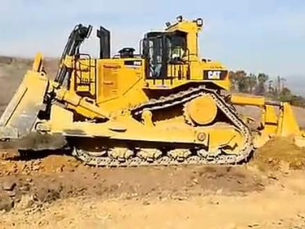 卡特CAT D11T推土机松土工作视频